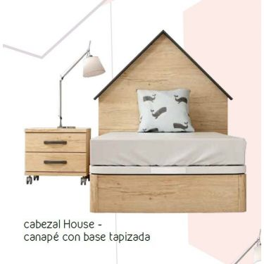 CNL163- CABEZAL HOUSE  (CAMA 90 Y 105)