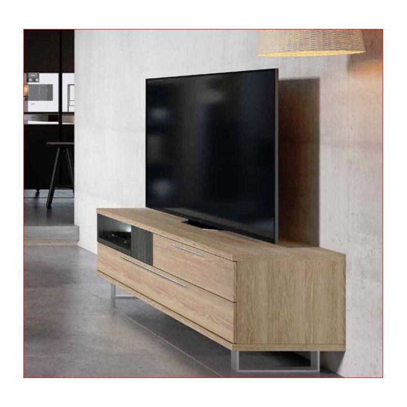 CK5/017-MUEBLE TV CON PATAS METÁLICAS