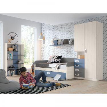Dormitorio juvenil moderno -  JN19C002