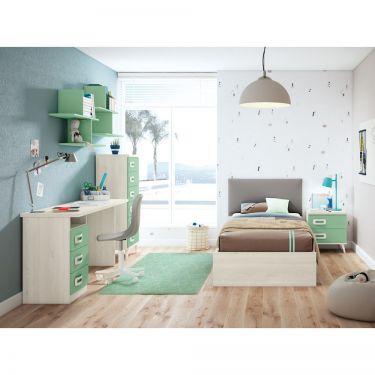 Dormitorio juvenil barato -  JN19C003