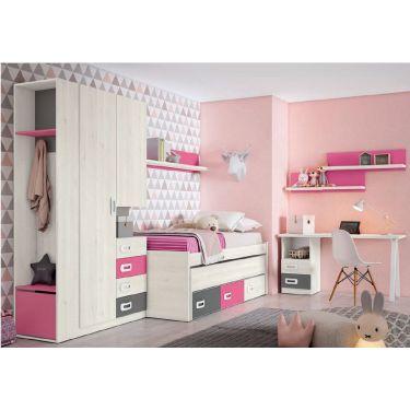 Dormitorio juvenil económico -  JN19C006