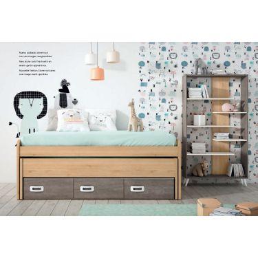 Dormitorio juvenil barato -  JN19C007
