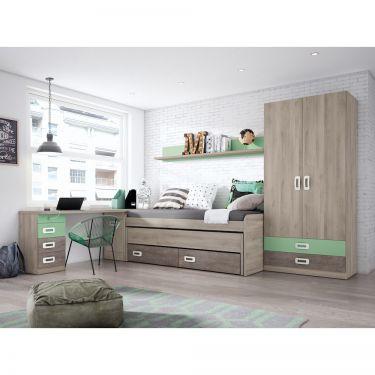 Dormitorio juvenil moderno -  JN19C008