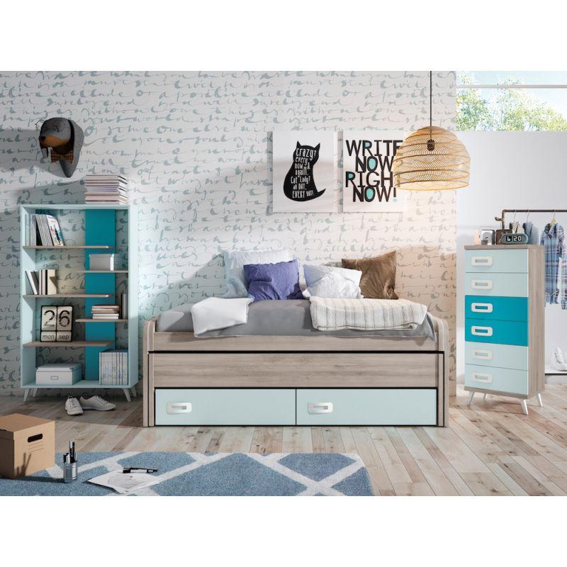 Dormitorio juvenil económico - JN19C010