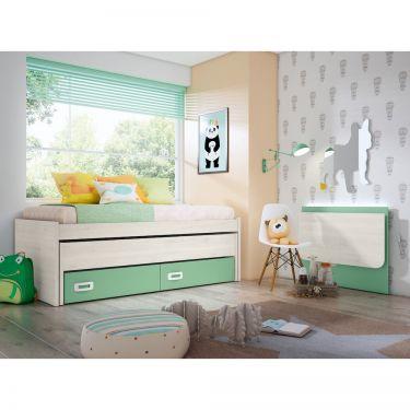 Dormitorio juvenil barato -  JN19C011