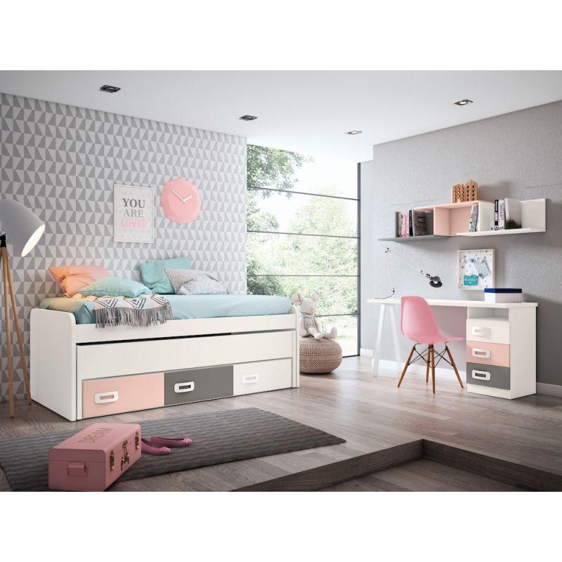 Dormitorio juvenil barato - JN19C012