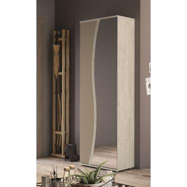 Zapatero muy alto de gran capacidad con espejo - 3126