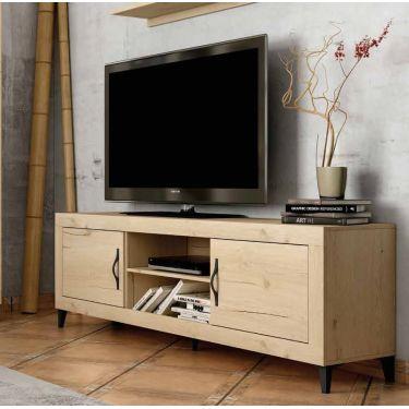 MUEBLE PARA TV ELEGANTE DE 180 cm. CON 2 HUECOS. MO18.202+7806