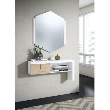 Mueble recibior de pared de estilo moderno SIN espejo - 1113