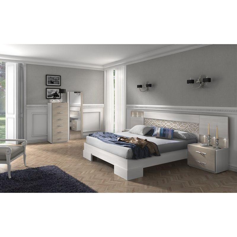 004 dormitorio de matrimonio colores fresno glacial for Dormitorios matrimonio color roble