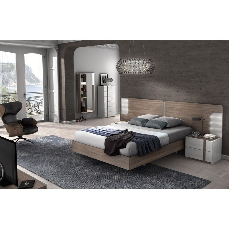 009 dormitorio de matrimonio colores fresno glacial for Dormitorios matrimonio color roble