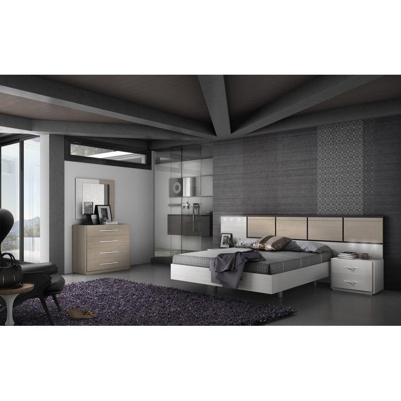 016 dormitorio de matrimonio colores fresno glacial for Dormitorios matrimonio color roble