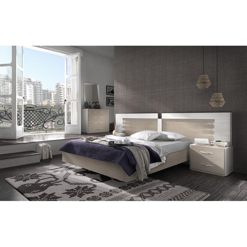 025 dormitorio de matrimonio colores fresno glacial for Dormitorios matrimonio color roble