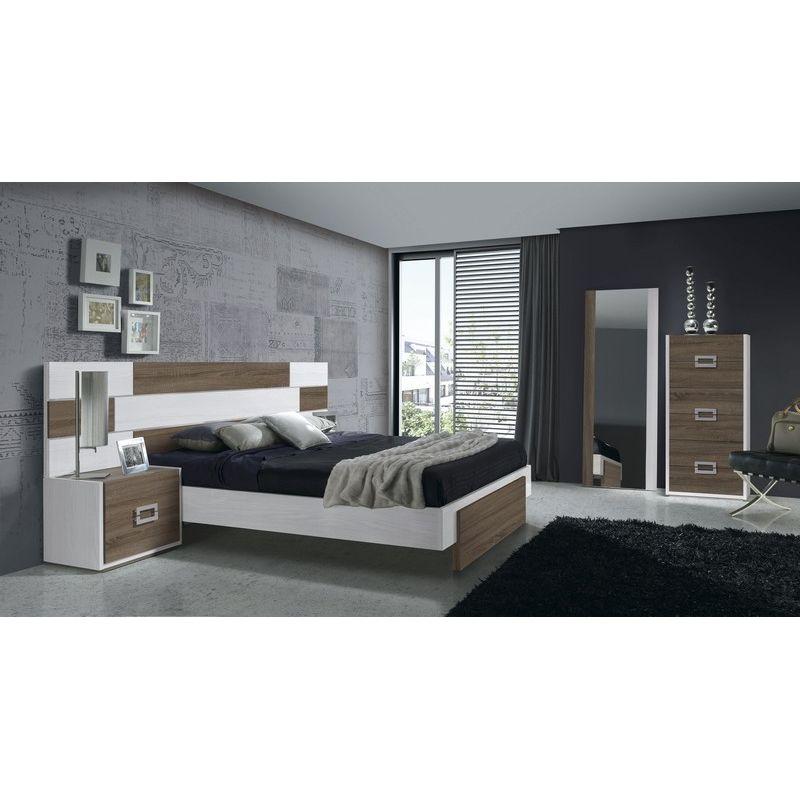 033 dormitorio de matrimonio colores fresno glacial for Dormitorios matrimonio color roble