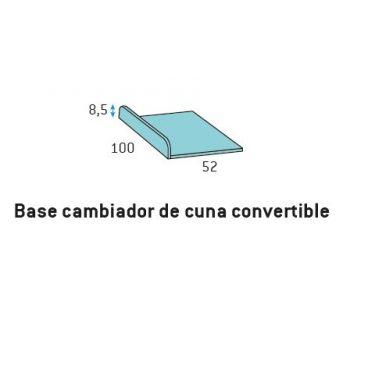 8110.BASE PARA CAMBIADOR DE CUNA CONVERTIBLE