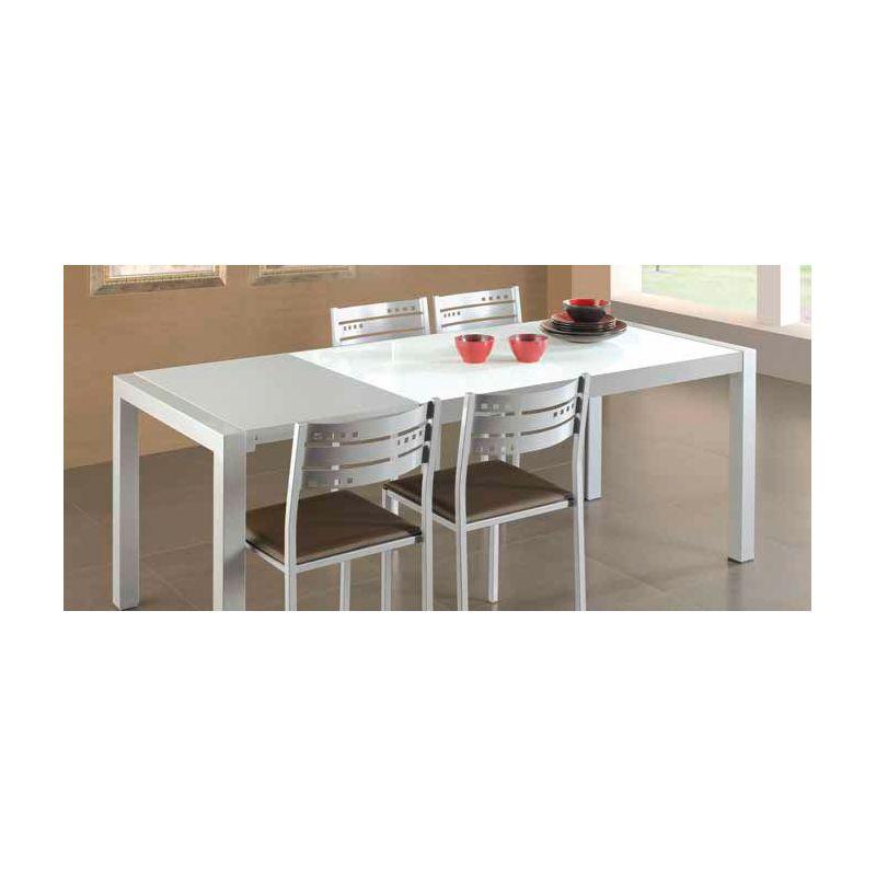 669 mesa de cocina extensible de 110 x 70 cm color - Fabricantes de mesas de cocina ...