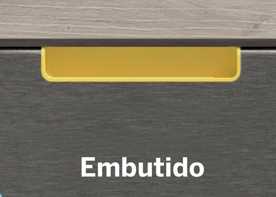 TIRADOR EMBUTIDO
