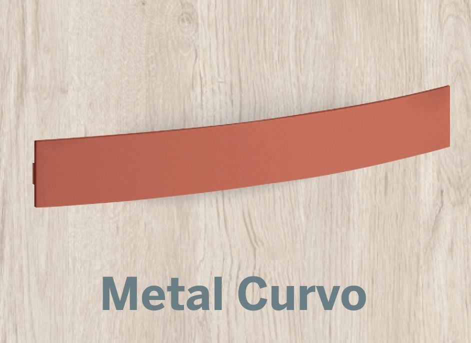 TIRADOR CURVO METAL