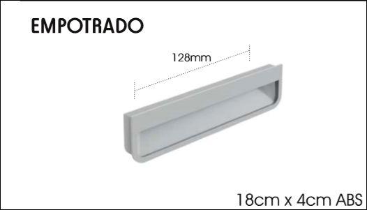 TIRADOR EMPOTRADO
